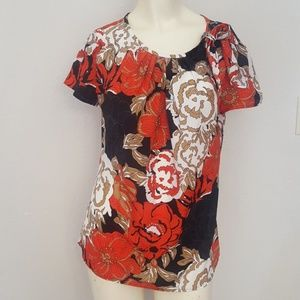 Ann Taylor size small floral top